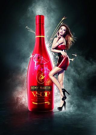 蔡依林與全球限量瓶照片(1)