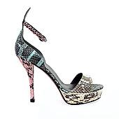 Castaner_蛇紋涼鞋_NTD14,700