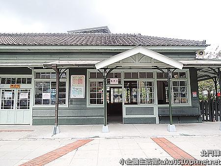 景點‧嘉義|濃濃日式風格的阿里山小火車起點站《北門驛車站》